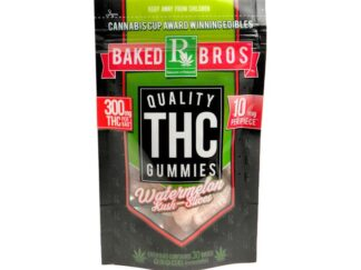 baked bros thc watermelon kush slices